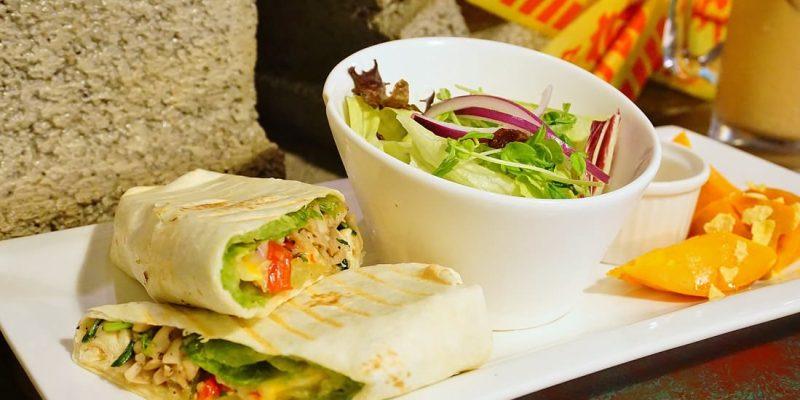 """【新北中和早午餐】癈墟早午餐Fresh Brunch    中和環球週邊""""熱壓吐司早午餐"""