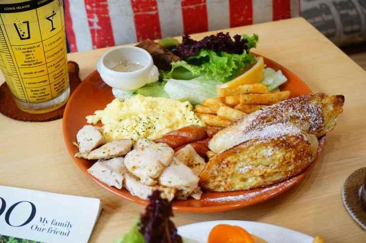 """【高雄楠梓早午餐】Bon appétit 葩那貝蒂    鄉村風格""""早午餐自己組合"""