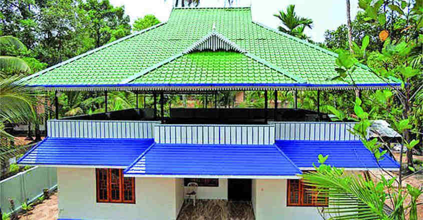 Construct attractive roofing to give a suave look to your house | Dream  home | house | construction | truss work | design | building | aluminium  sheets | roofing | Onmanorama | decor