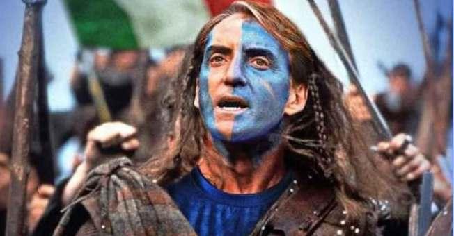 Scottish newspaper turns to 'Braveheart' Mancini ahead of Euro 2020 final | Euro  2020 | Italy | England | Roberto Mancini | Braveheart