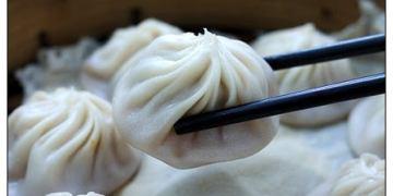 【台中散策食記】嘉園(小上海)點心總匯:天天爆滿的人氣麵點~小籠湯包皮Q餡爆汁