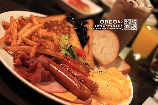 [OREO的旅行日記。美食食記] 台北東區特色美式餐廳~GOOBUR谷堡美式早午餐全天供應