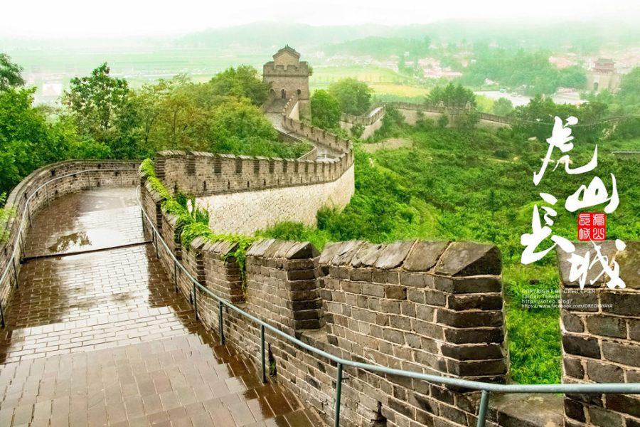 遼寧旅行│萬里長城東端起點~虎山長城~逼近90度的階梯!能眺望北韓邊境│雄獅旅遊