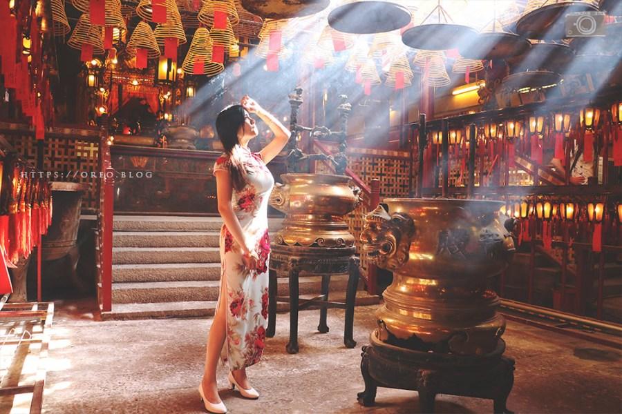 香港復古拍照景點&旗袍租借 | 大館、文武廟、石板街、星巴克