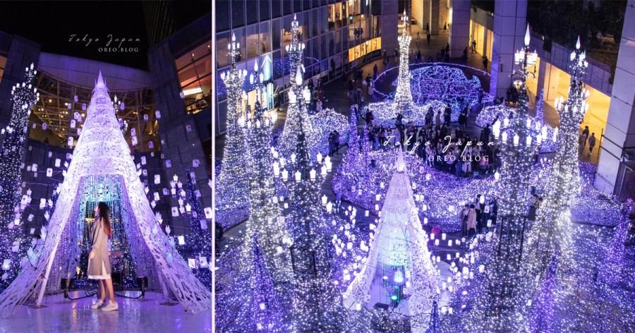 東京聖誕跨年點燈│汐留Caretta豪華夢幻燈飾~11/15-2/14 迪士尼主題輪番上演