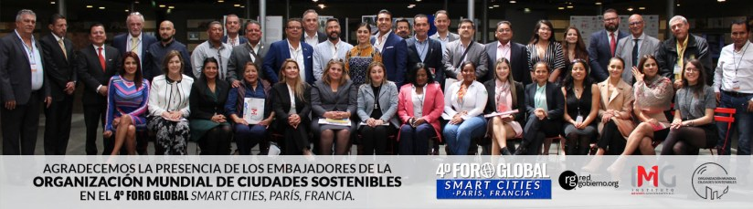 Asistentes Foro Global Smart Cities - París 2019 - Instituto Mejores Gobernantes AC