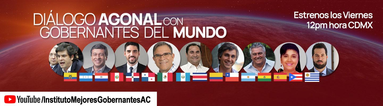 Diálogo Agonal con Gobernantes del Mundo - Instituto Mejores Gobernantes