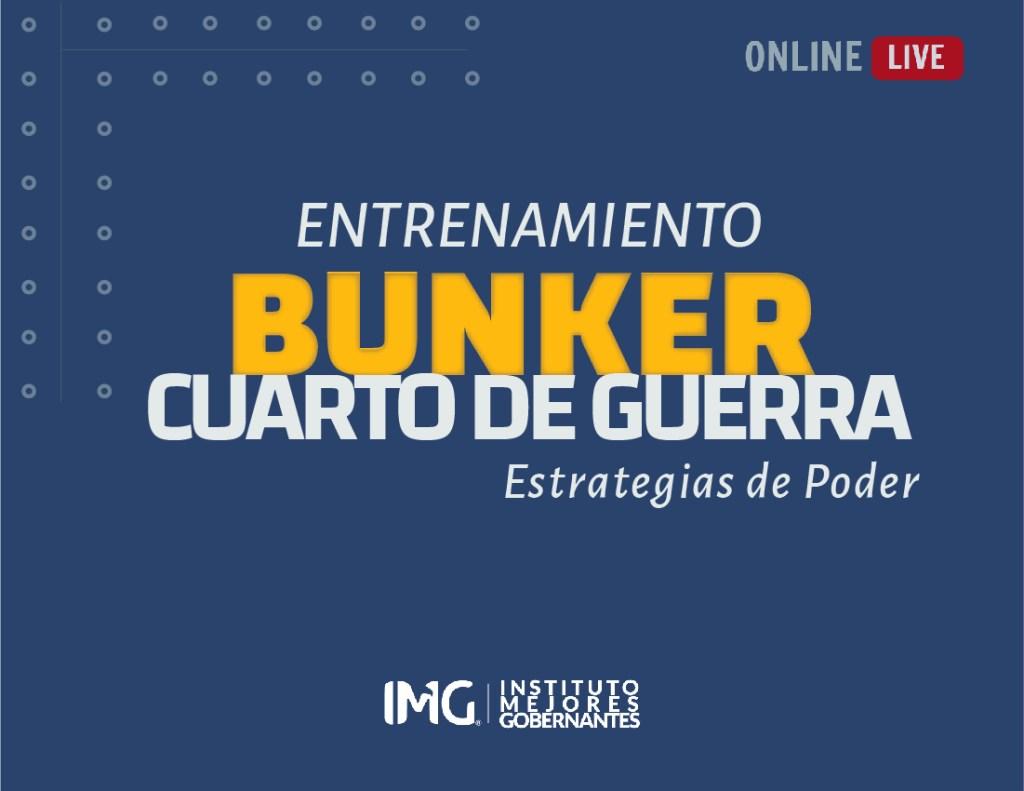 Entrenamiento BUNKER Cuarto De Guerra - Instituto Mejores Gobernantes