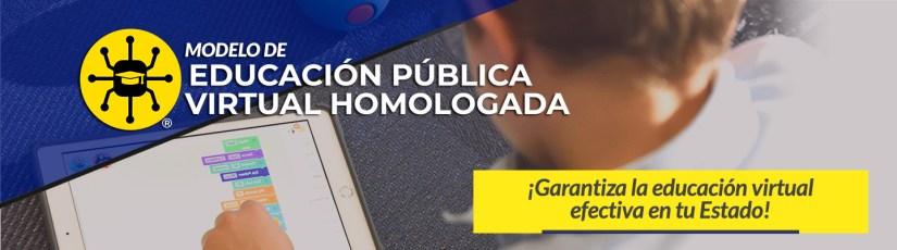 Modelo de Educación Pública Virtual Homologada