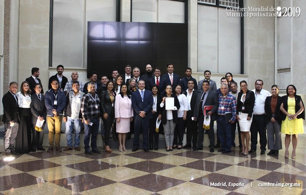 Cumbre Mundial de Municipalistas 2019 - Organizado por el Instituto Mejores Gobernantes, Galo Limón Presidente. Universidad Camilo José Cela