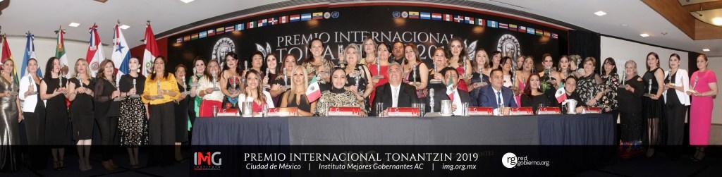 Premio Internacional Tonantzin 2019 - Instituto Mejores Gobernantes, Galo Limón, Presidente