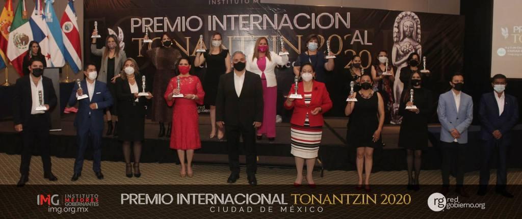 Premio Internacional Tonantzin 2020 - Instituto Mejores Gobernantes, Galo Limón, Presidente