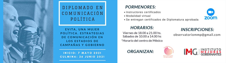 Diplomado en Comunicación Politica - Observatorio Mundial de Mujeres Políticas - Instituto Mejores Gobernantes