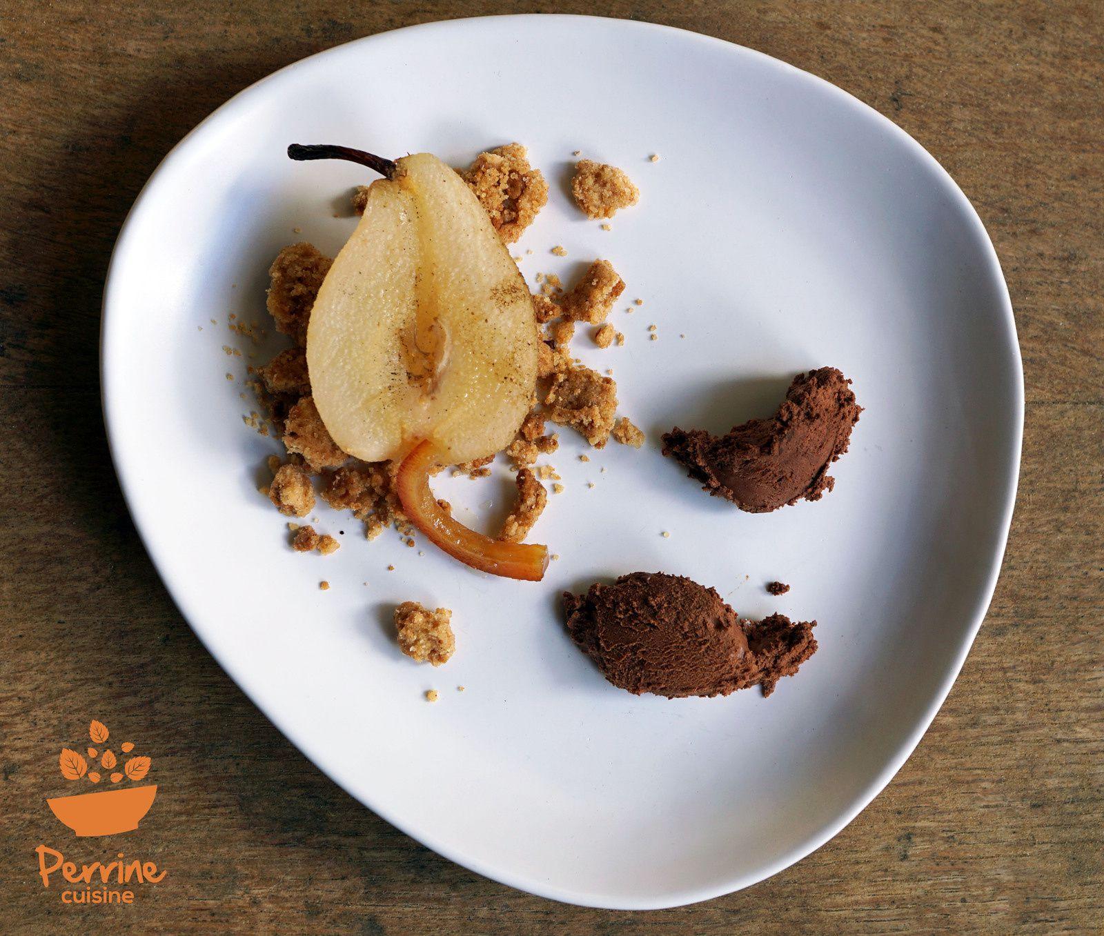 chocolat dessert a l assiette
