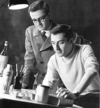 Magnus e Max Bunker da giovani