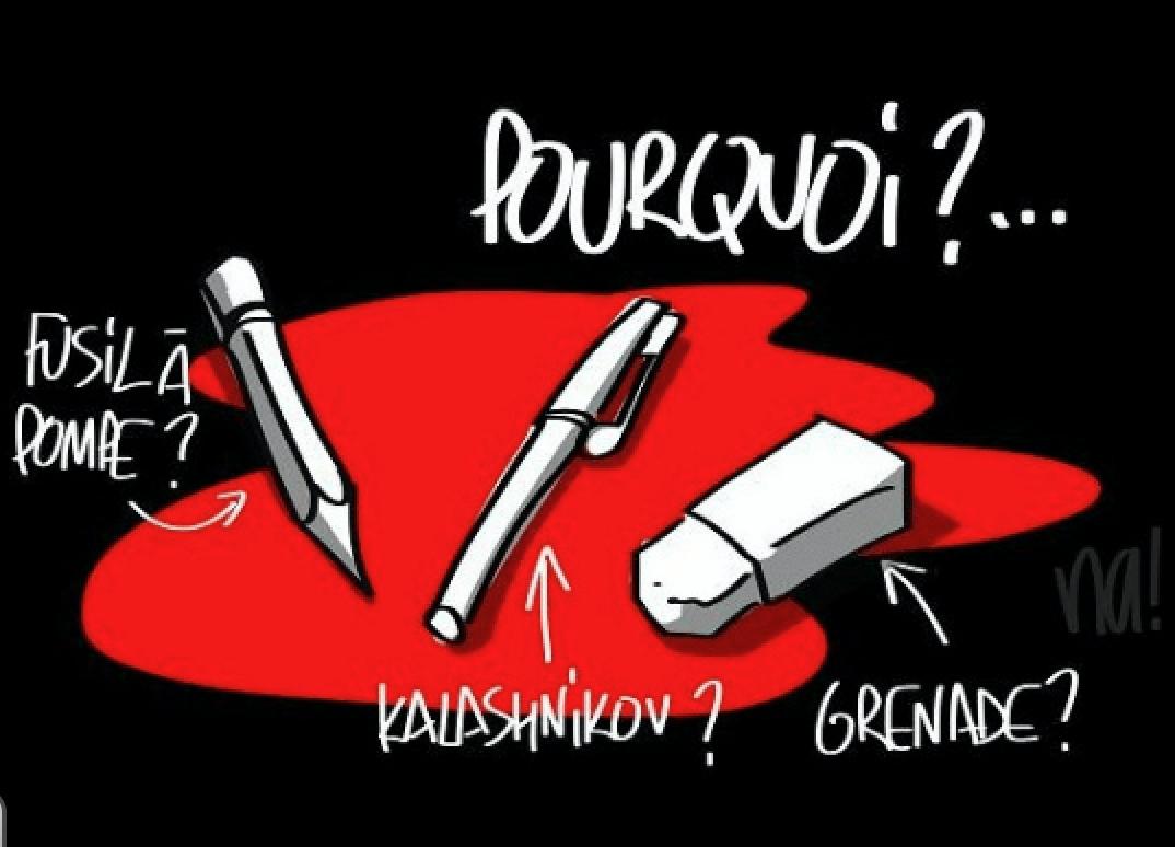 Il y a un an, une conférence de rédaction touchait à sa fin #JeSuisToujoursCharlie