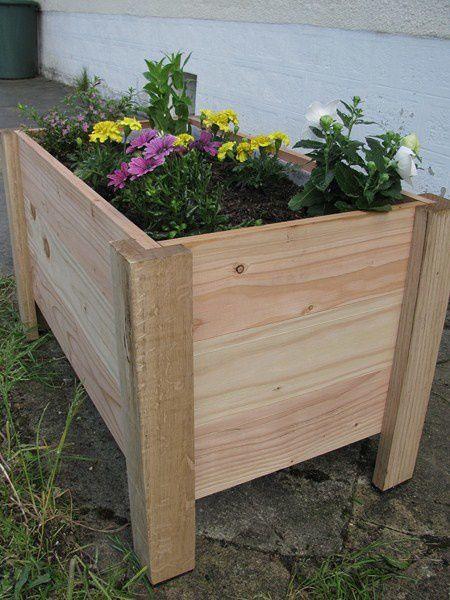 Fabriquer Facilement Des Jardinires Bon Sang De Bois