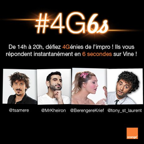 Opération 4G6s d'Orange [notsponsorised]