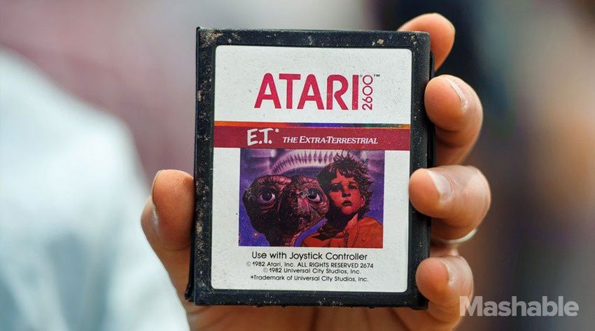 E.T The Game pour Atari 2600 : la fin d'une légende [oldGeek]