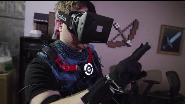 Et si on pouvait voir ses mains dans Oculus Rift ?