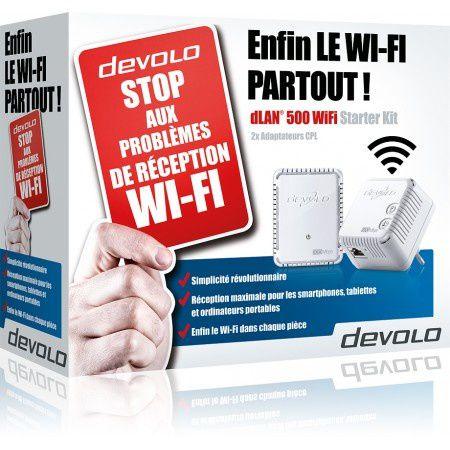 Devolo dLAN® 500 : du CPL et du Wifi en même temps [internetpartout]