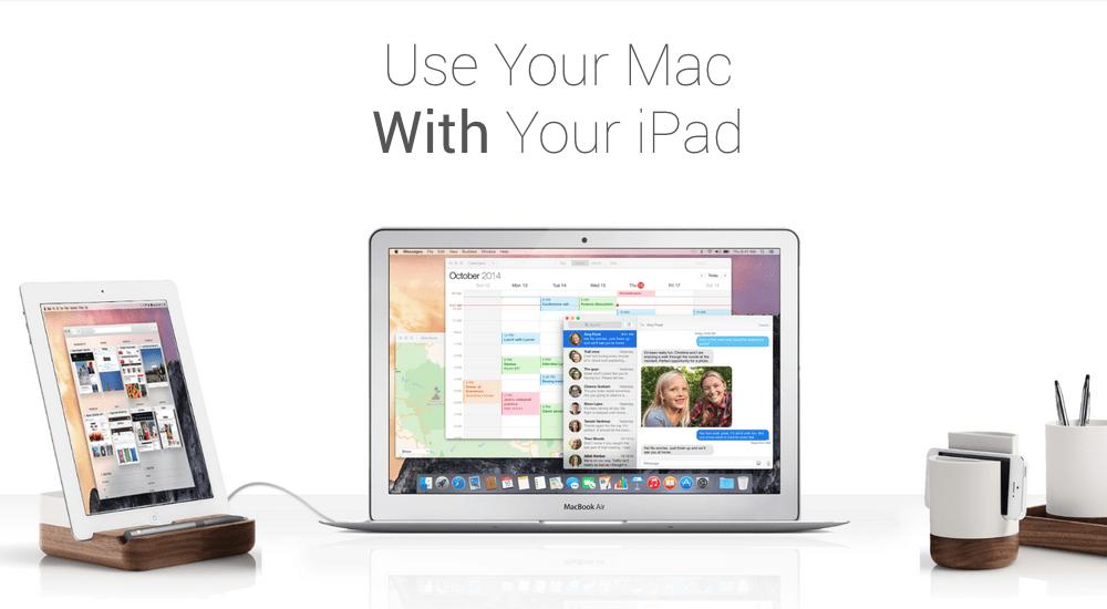 Duet : votre iPad comme deuxième écran [0Latence]
