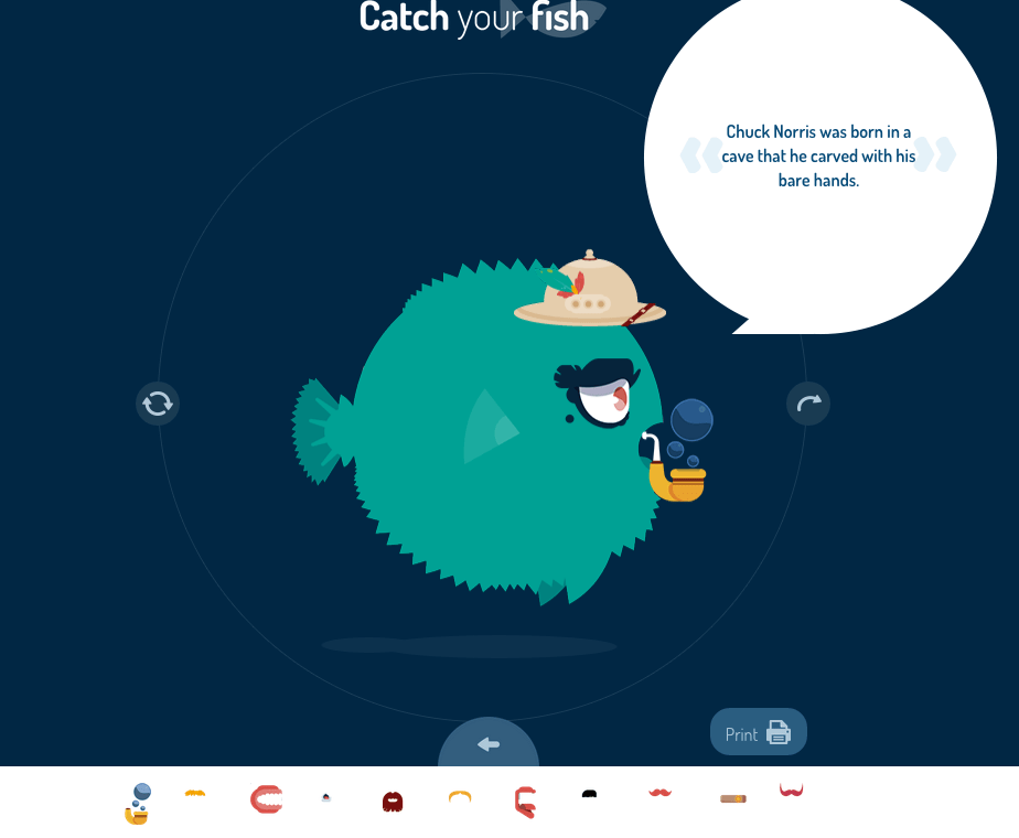 Catch your Fish : fabrique TON poisson d'avril [<3]