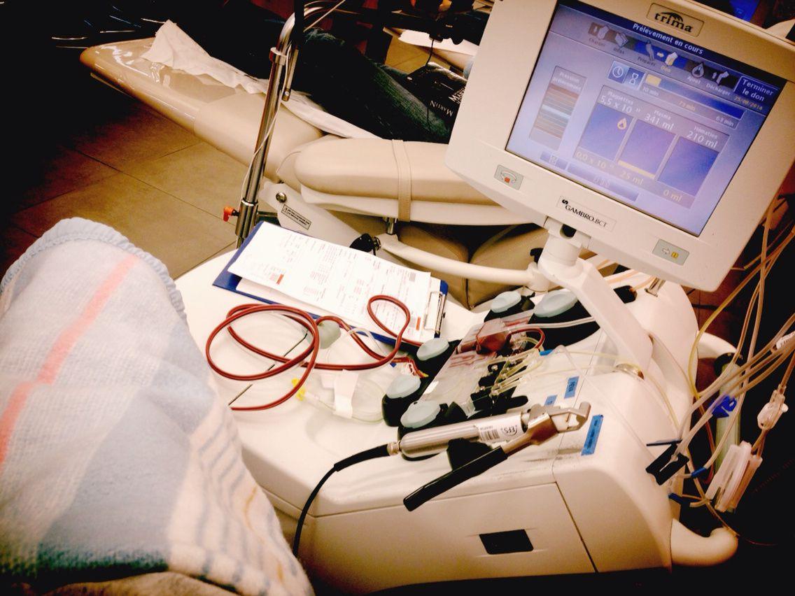 Donner son sang, pour rester en vie...