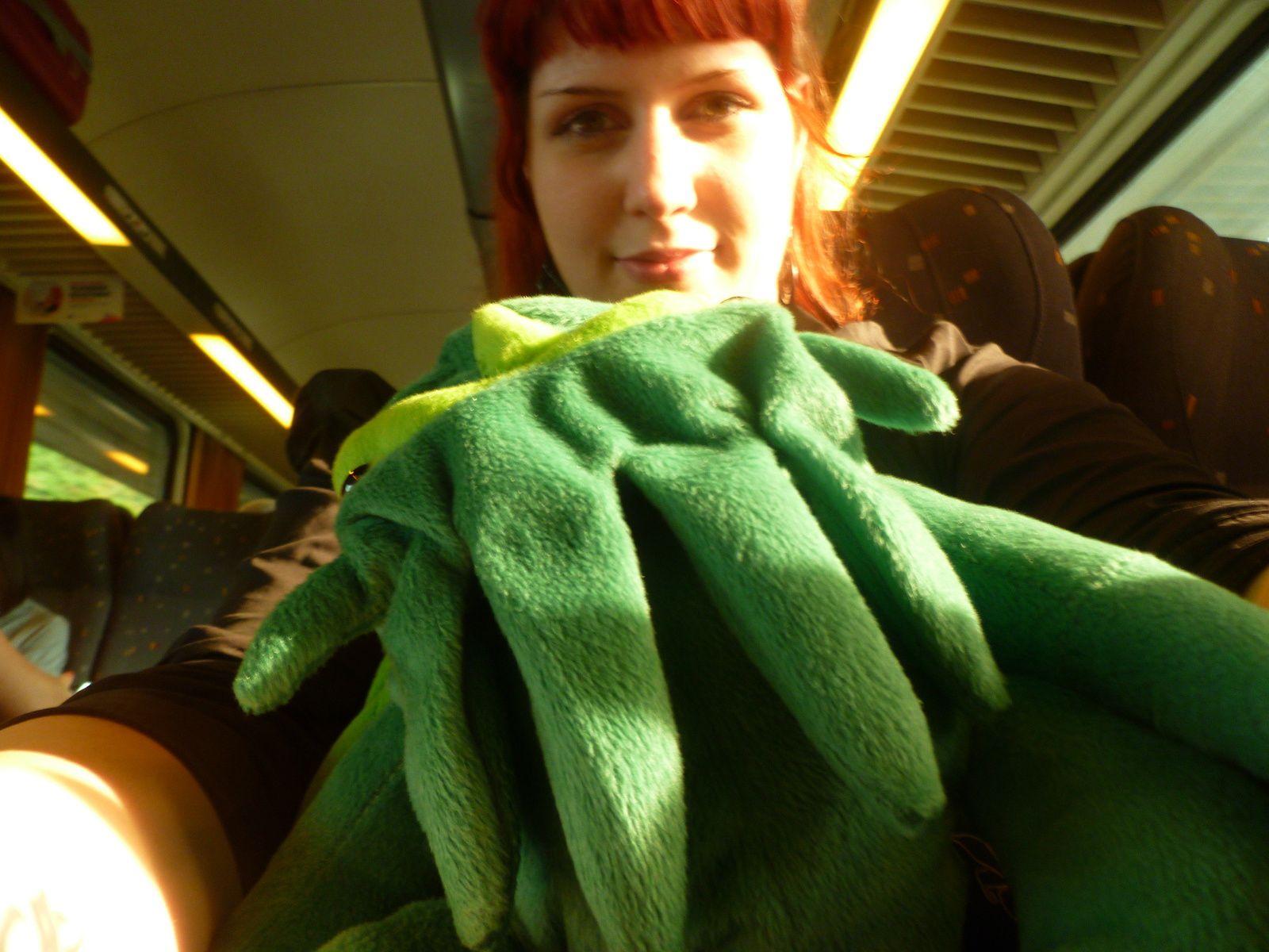 Cthulhu dans le train vers Bruxelles...