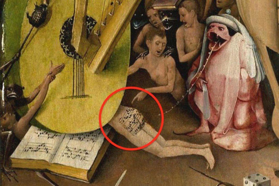 """Détail du panneau droit du triptyque """"Le jardin des délices"""" de jérôme Bosch... À présent, vous comprenez mieux pourquoi j'ai choisi ce tableau pour décrire Âmes de verre. Oui, je suis très fière de ma trouvaille ^^"""