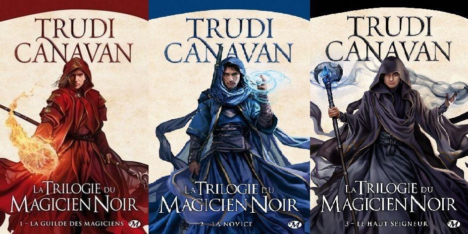 [Chronique Fantasy] La trilogie du magicien noir, de Trudi Canavan - résumé de la série