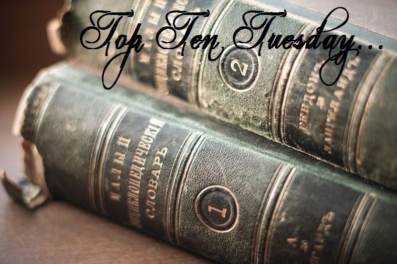 Top Ten Tuesday #27