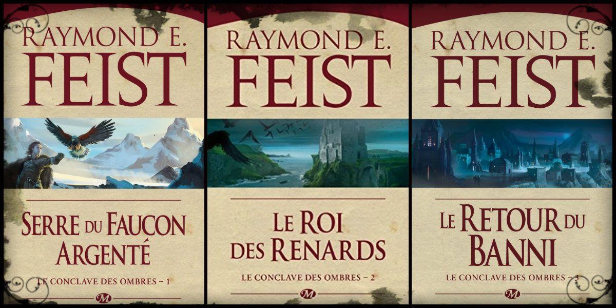 [Saga fantasy] Le conclave des ombres, de Raymond Feist
