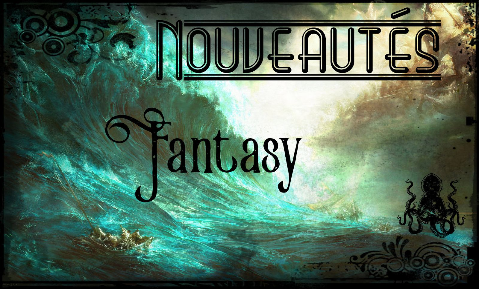 [Nouveautés] Les sorties fantasy en mars 2017