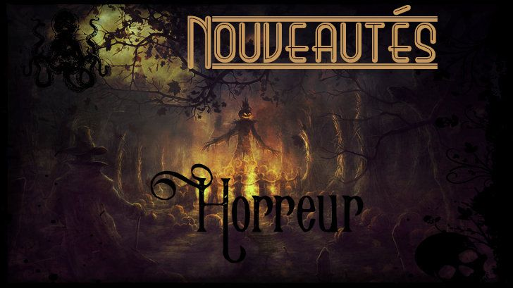[Nouveautés] Sorties steampunk, uchronies, dystopies, horreur et SF en mars 2017