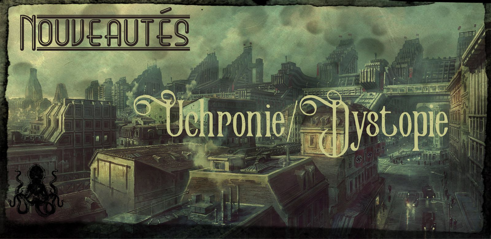 [Nouveautés] Sorties steampunk, uchronies, dystopies, horreur et SF en avril 2017