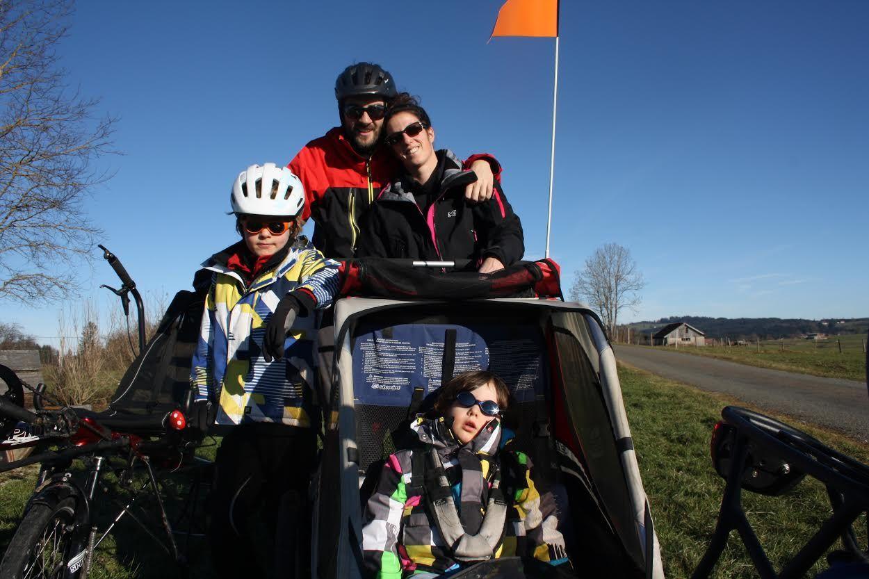 ITW grimace   Par4chemins à vélo !