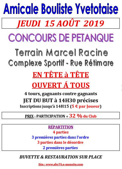 Affiches Concours Le Blog De Petanquechrover Blogcom
