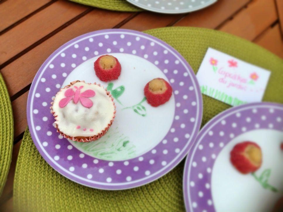 Cupcakes du jardin