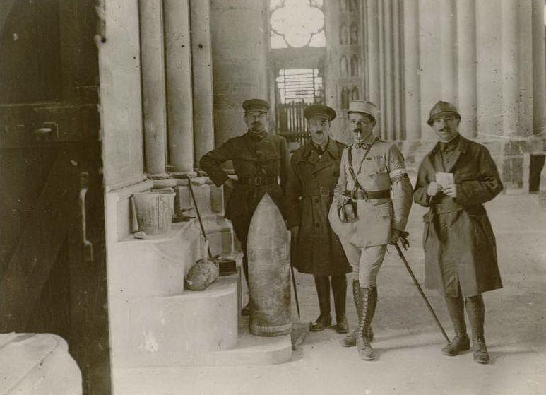 Le 20 juillet 1917 : mission des journalistes