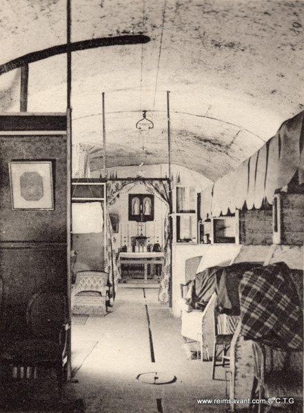 Livret de photographies dans les caves Henri Abelé