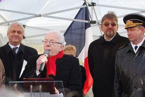 Léon Landini, Paris, commémoration du 70ème anniversaire de la victoire de Stalingrad sur les armées nazies
