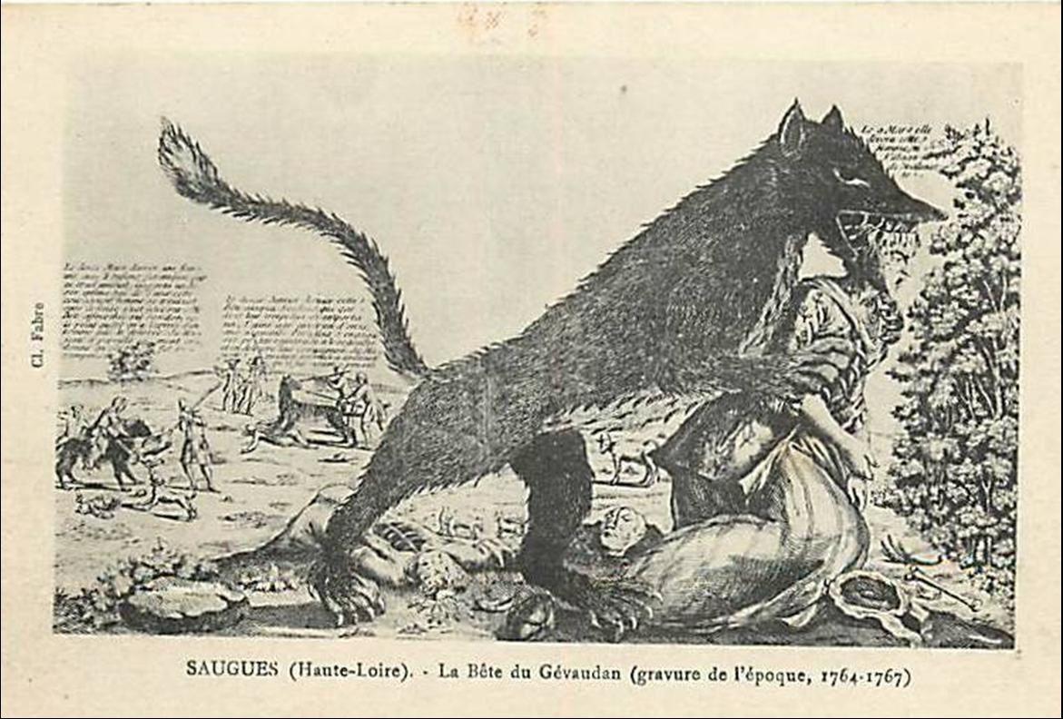 """Résultat de recherche d'images pour """"la bete du gevaudan"""""""