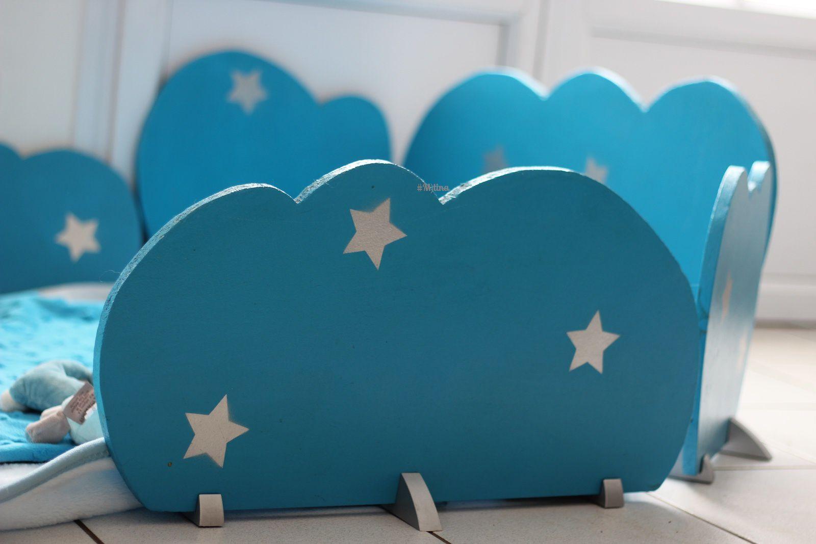 Un parc dans les nuages (ou comment recycler un meuble tv)