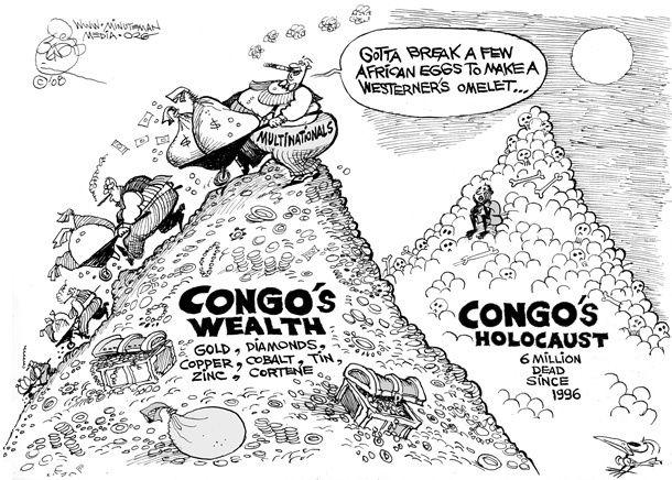 Reprise de la guerre en RDC. Israël et les USA arment les deux camps et participent à la balkanisation du pays.