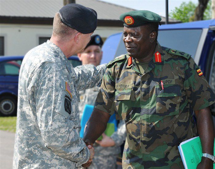 Senior Ugandan General Meets with U.S. Army Africa Leaders; Continues Cooperative Partnership