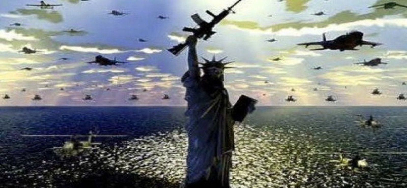 """Résultat de recherche d'images pour """"Un rapport du Pentagone indique que les États-Unis se préparent à une guerre totale"""""""