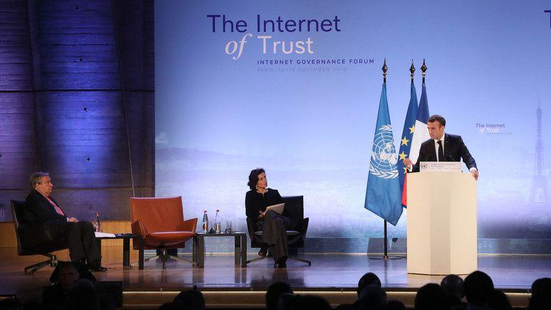 Censure. Sauver l'«Internet libre» ? Macron annonce que Facebook acceptera des «régulateurs français» (RT)