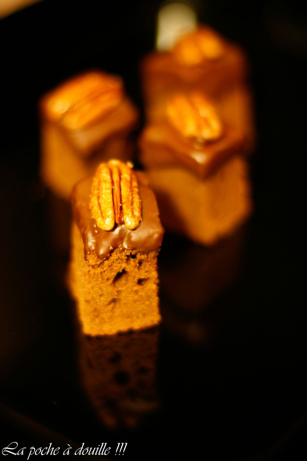 Mi pain d'épice - mi cake au chocolat façon Canneliesel
