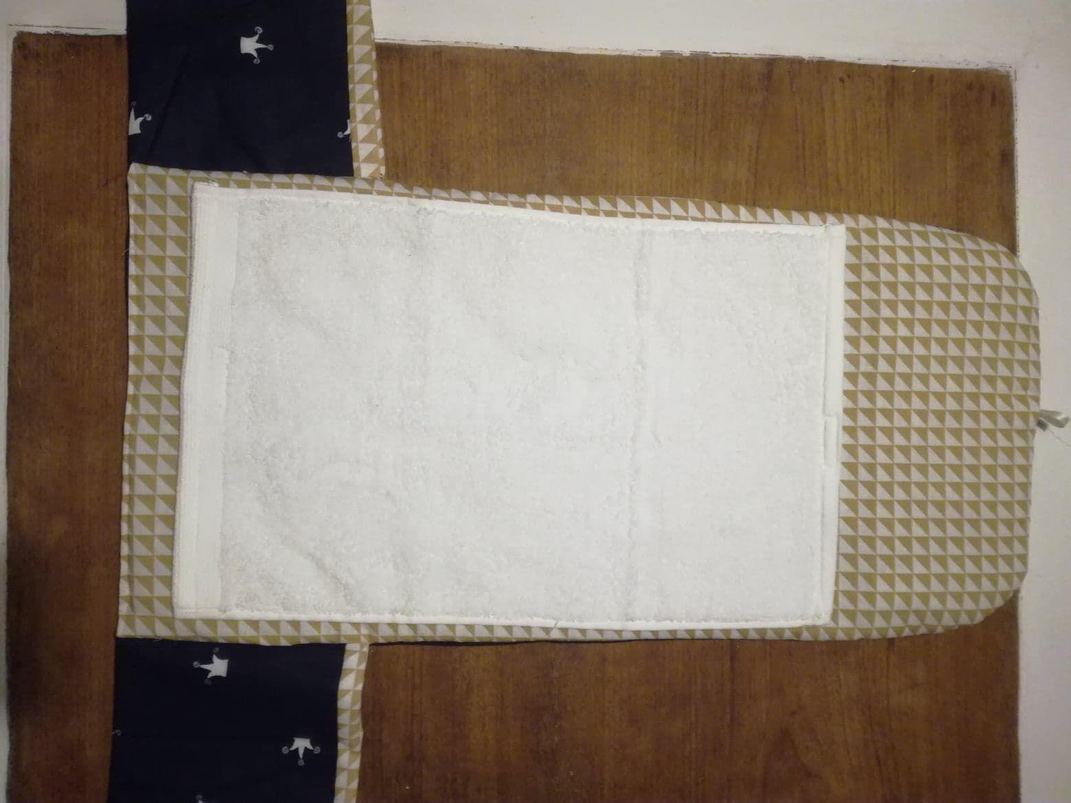tuto tapis a langer nomade matelasse